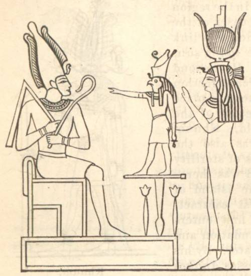 The_mythological_Trinity_or_Triad_Osiris_Horus_Isis