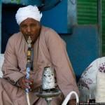 Традиционный кальян в Египте