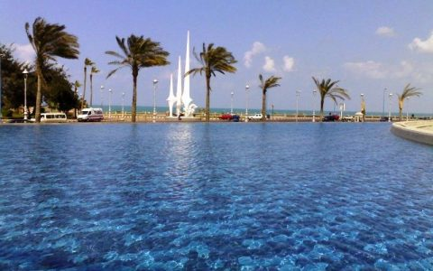 Какое море в Египте?
