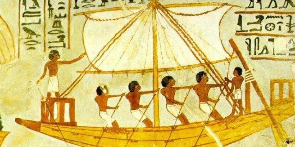 Египтяне и море