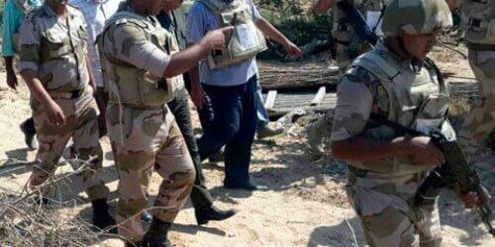 Нейтрализация террористов в Египте