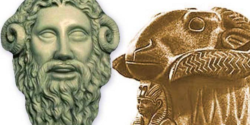 Древнеегипетский бог Амон
