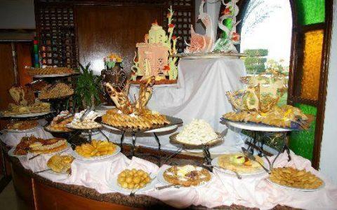 Питание  в отеле Десерт Роуз