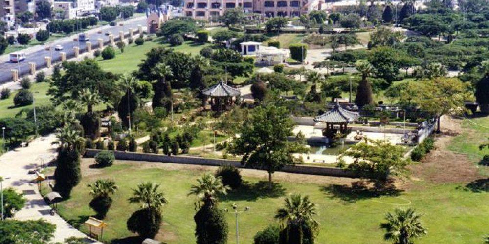 В садах Каира